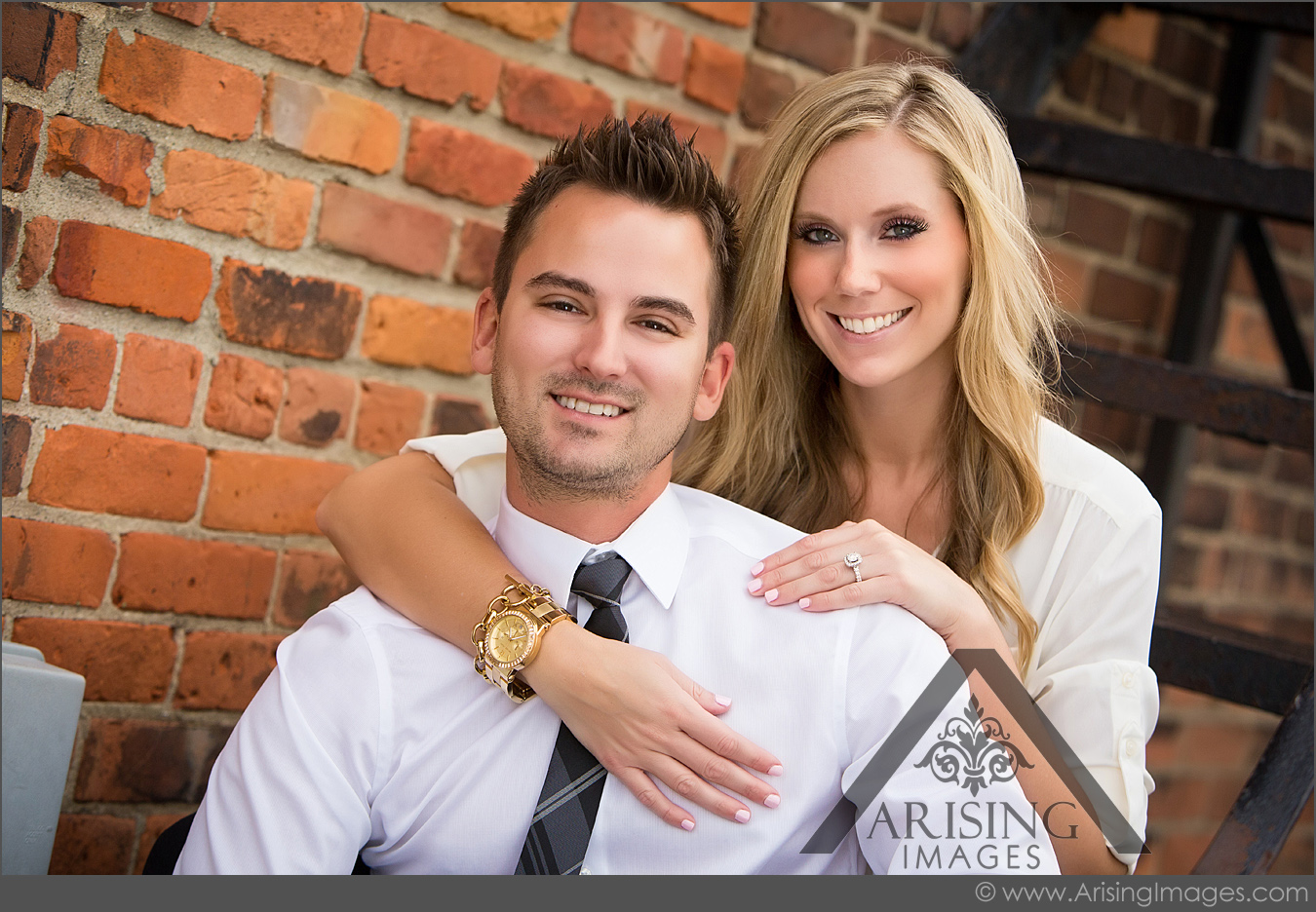 best rochester michigan engagement pictures
