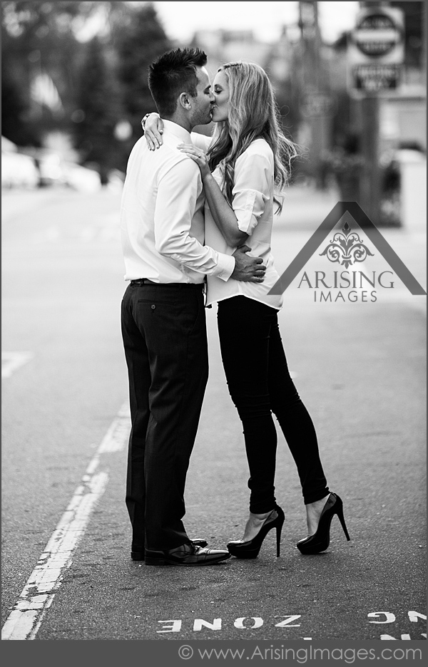fashionable engagement pictures rochester michigan