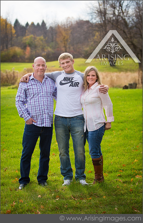michigan fall family pictures