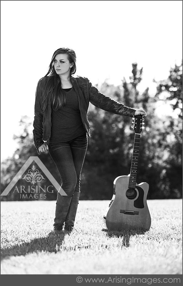 michigan guitar senior pictures
