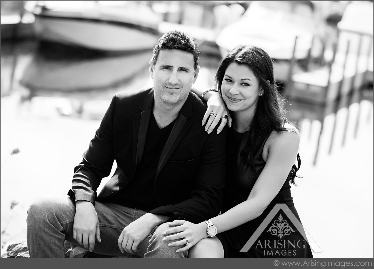 cute couple engagement pictures in michigan