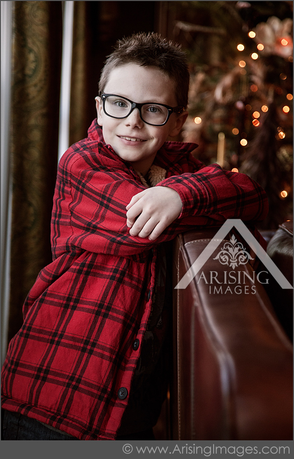 cute michigan kids christmas pictures