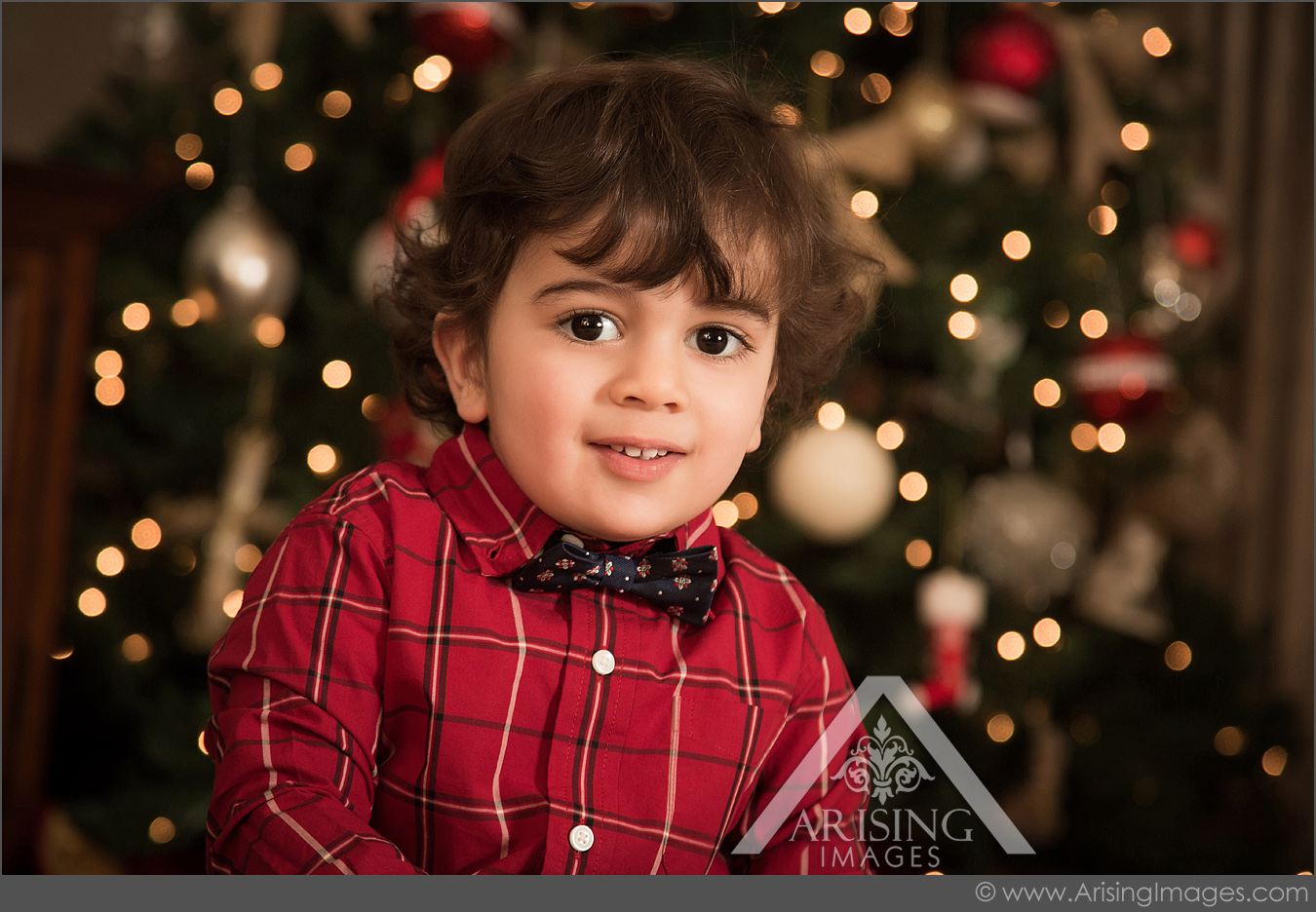 rochester michigan kids christmas portraits