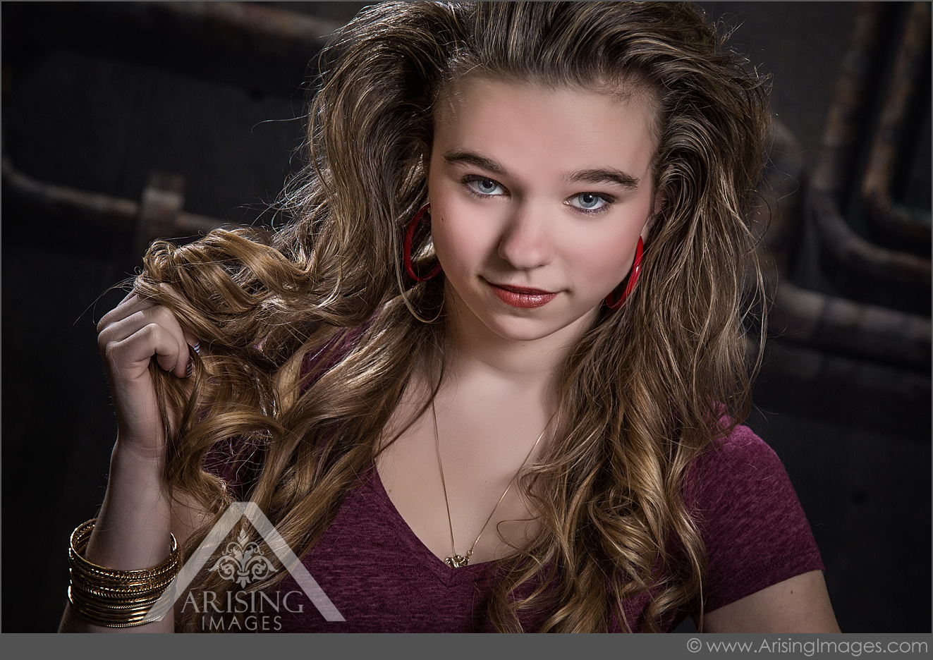 Amazing 8039S Punk Rock Themed Shoot With Our Senior Models Hairstyles For Women Draintrainus