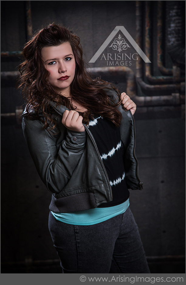 edgy senior pictures in orion michigan