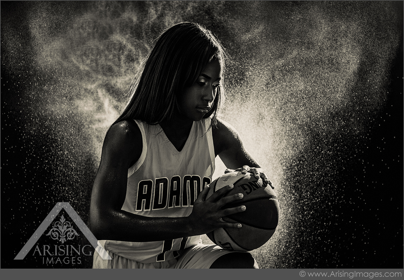 Michigan Basketball Senior Pictures With Dazia