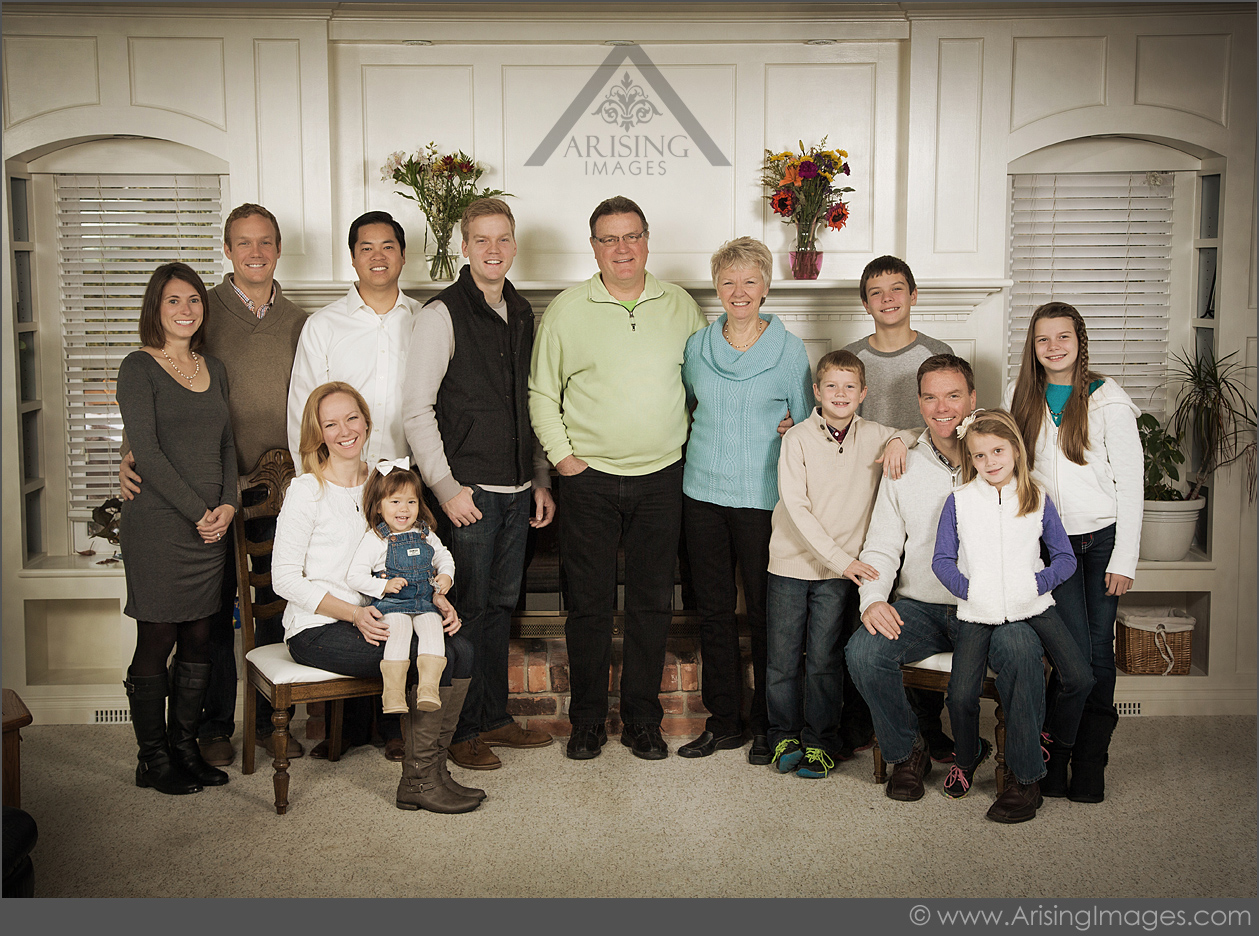 extended family pictures in rochester michigan