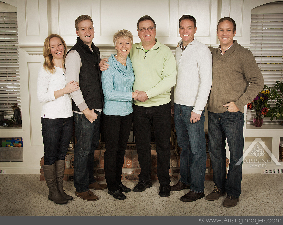 michigan family pictures in your home