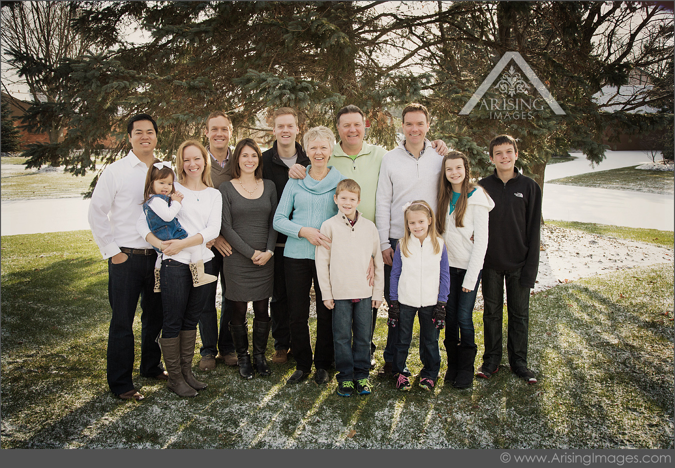 extended family pictures in michigan