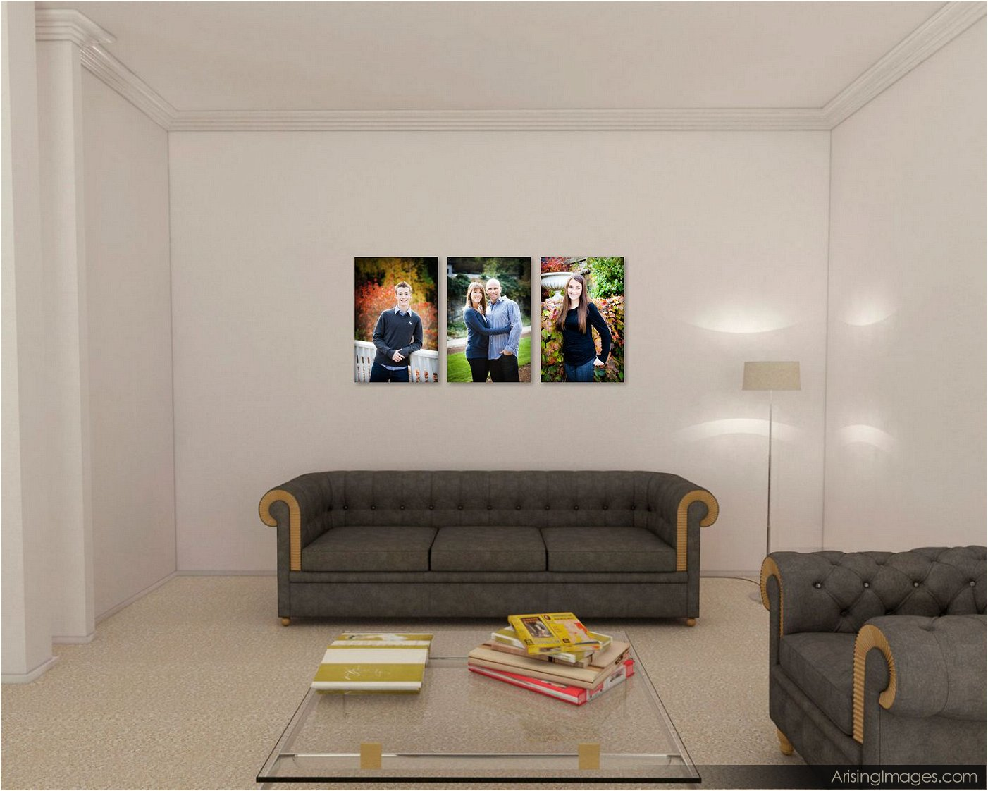 design ideas for canvas gallery wraps