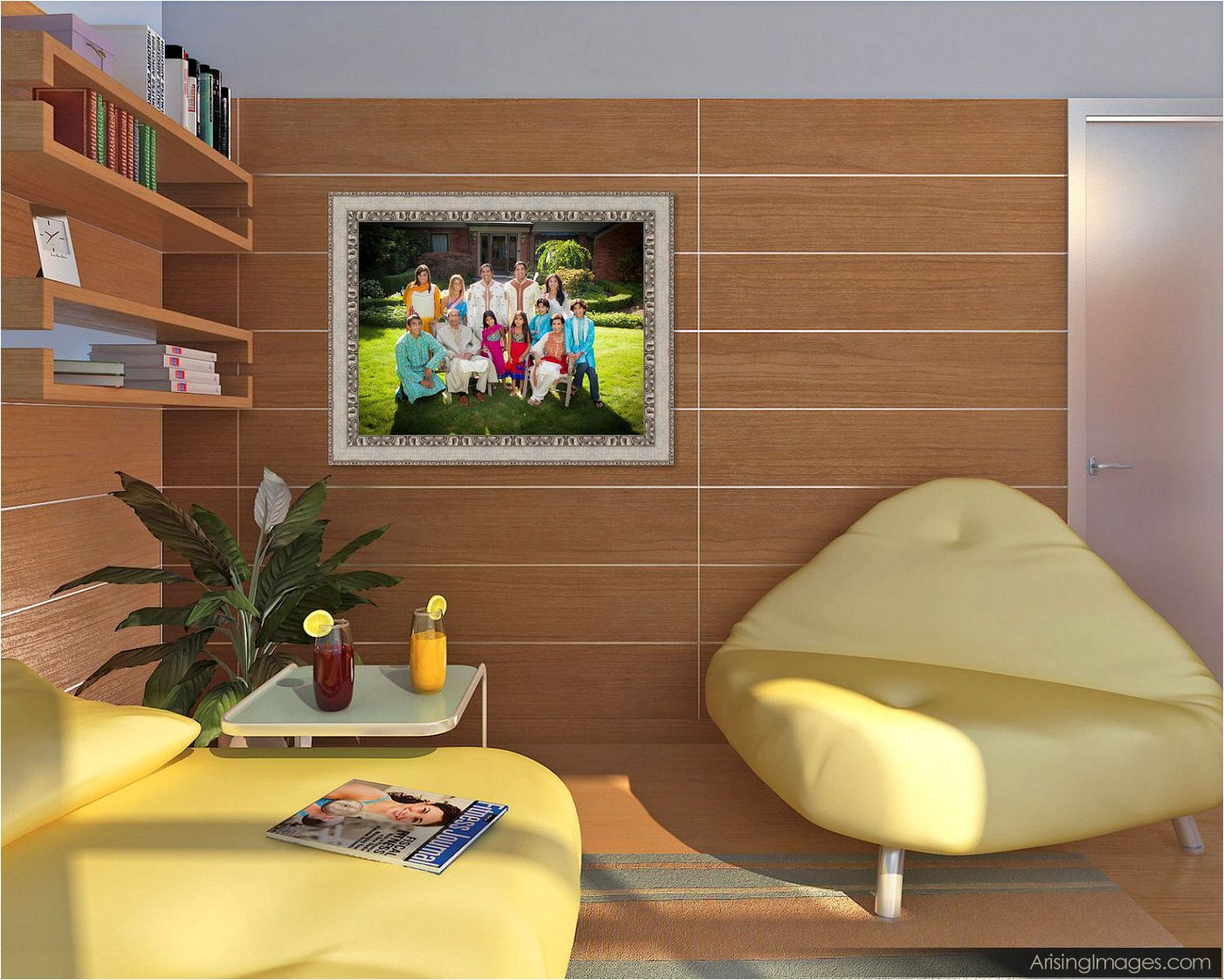 cool ideas for family wall pictures