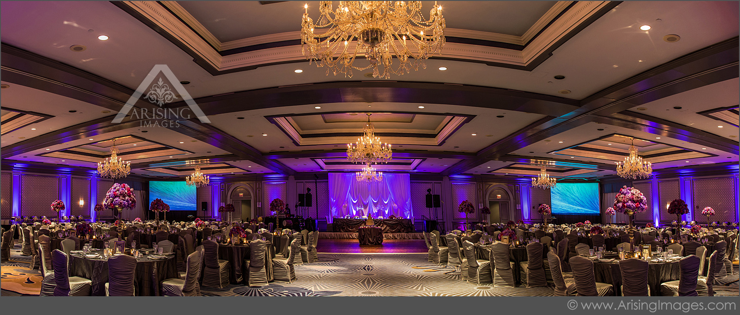 beautiful wedding reception at the henry hotel