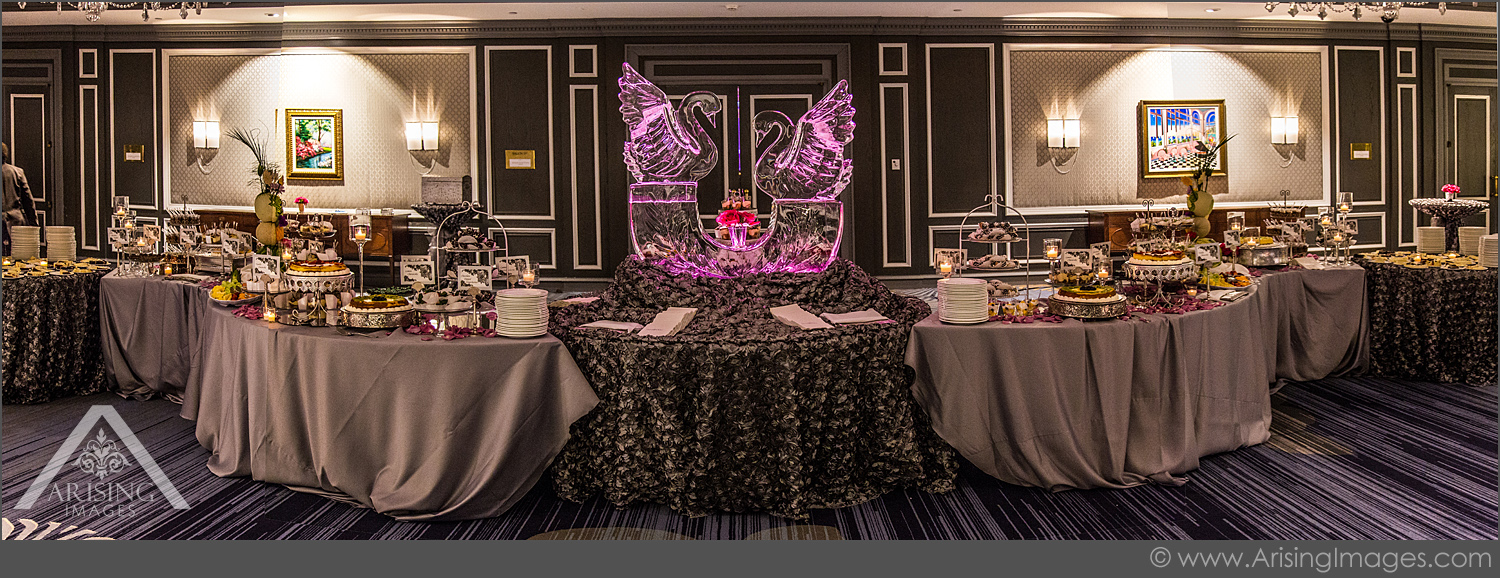 awesome wedding dessert table at the henry hotel