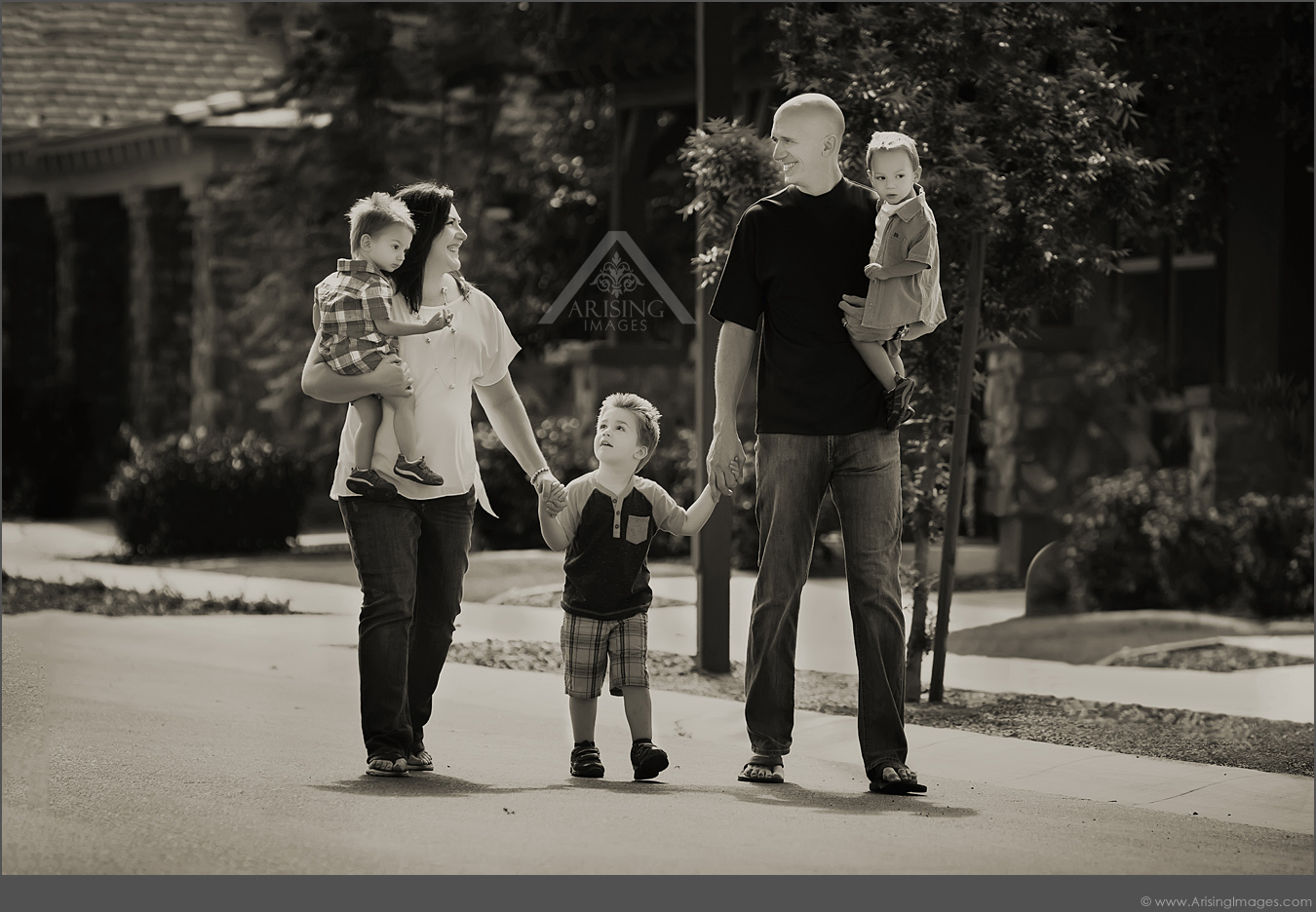 cute candid michigan family pictures