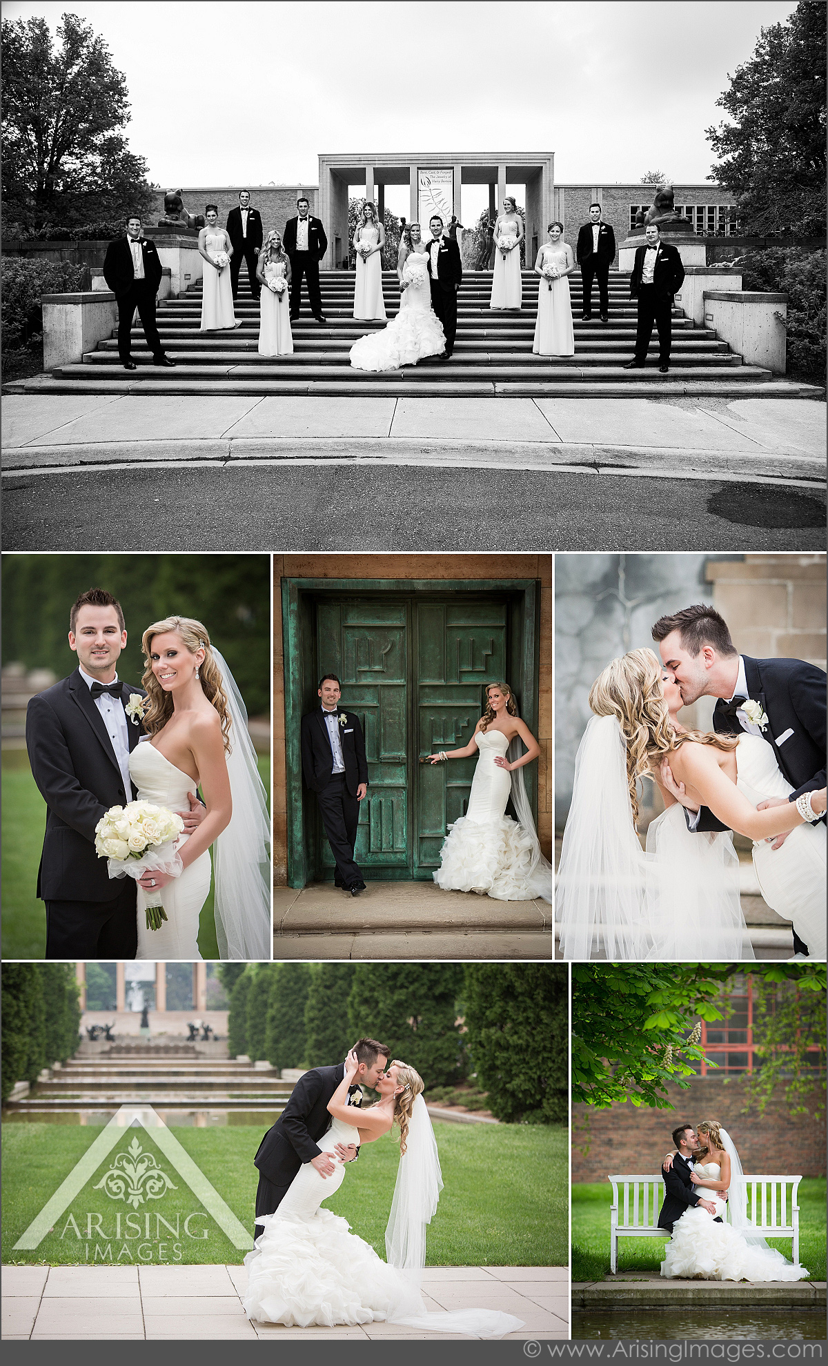 creative wedding photography at cranbrook