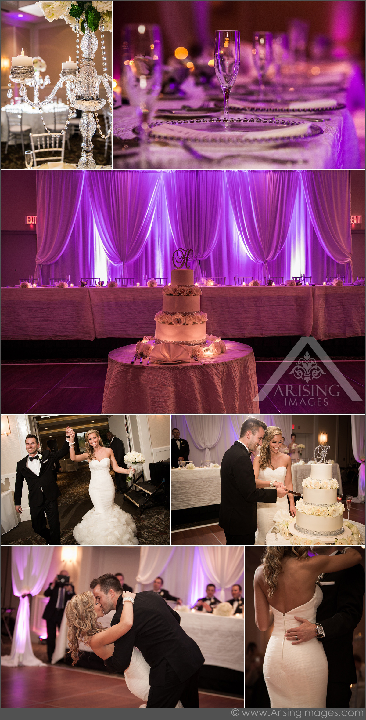 beautiful wedding photos at the westin southfield detroit